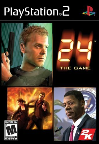 24gameps2 - 24 The Game   PS2