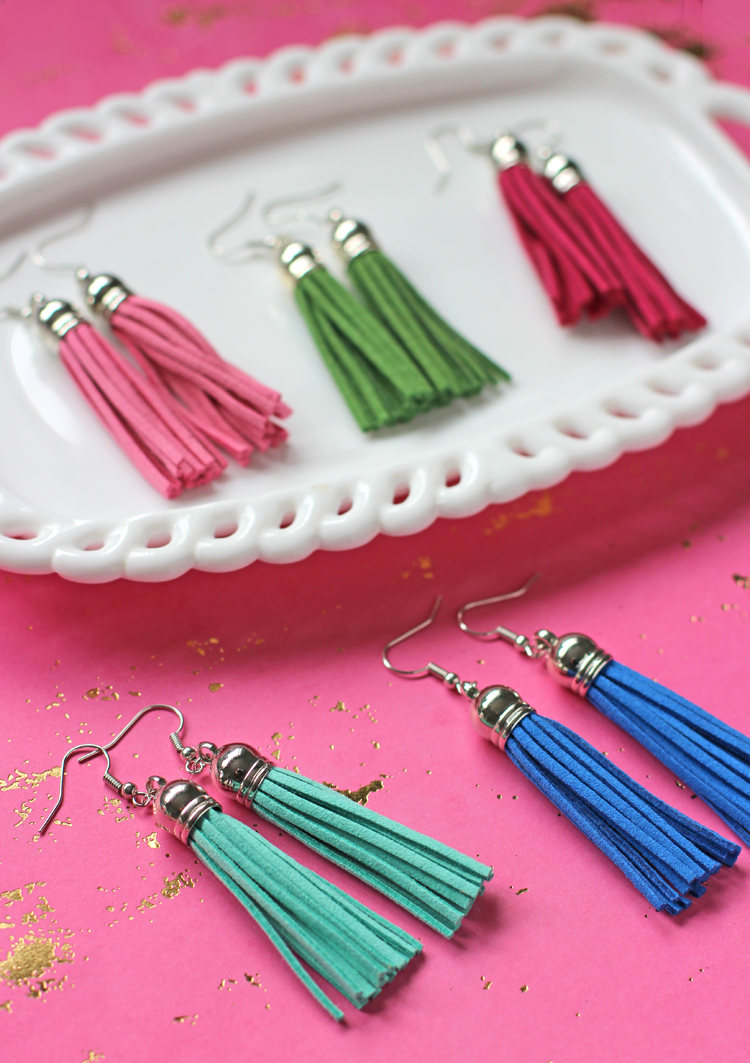 how to make your own dangle earrings