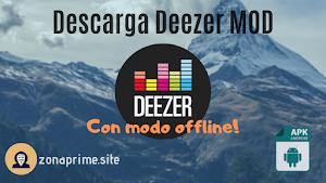 Deezer MOD con modo OFFLINE APK