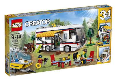 TOYS : JUGUETES - LEGO Creator  31052 Caravana de vacaciones   Vacation Getaways  Producto Oficial 2016 | Piezas: 792 | Edad: 9-14 años  Comprar en Amazon España & buy Amazon USA