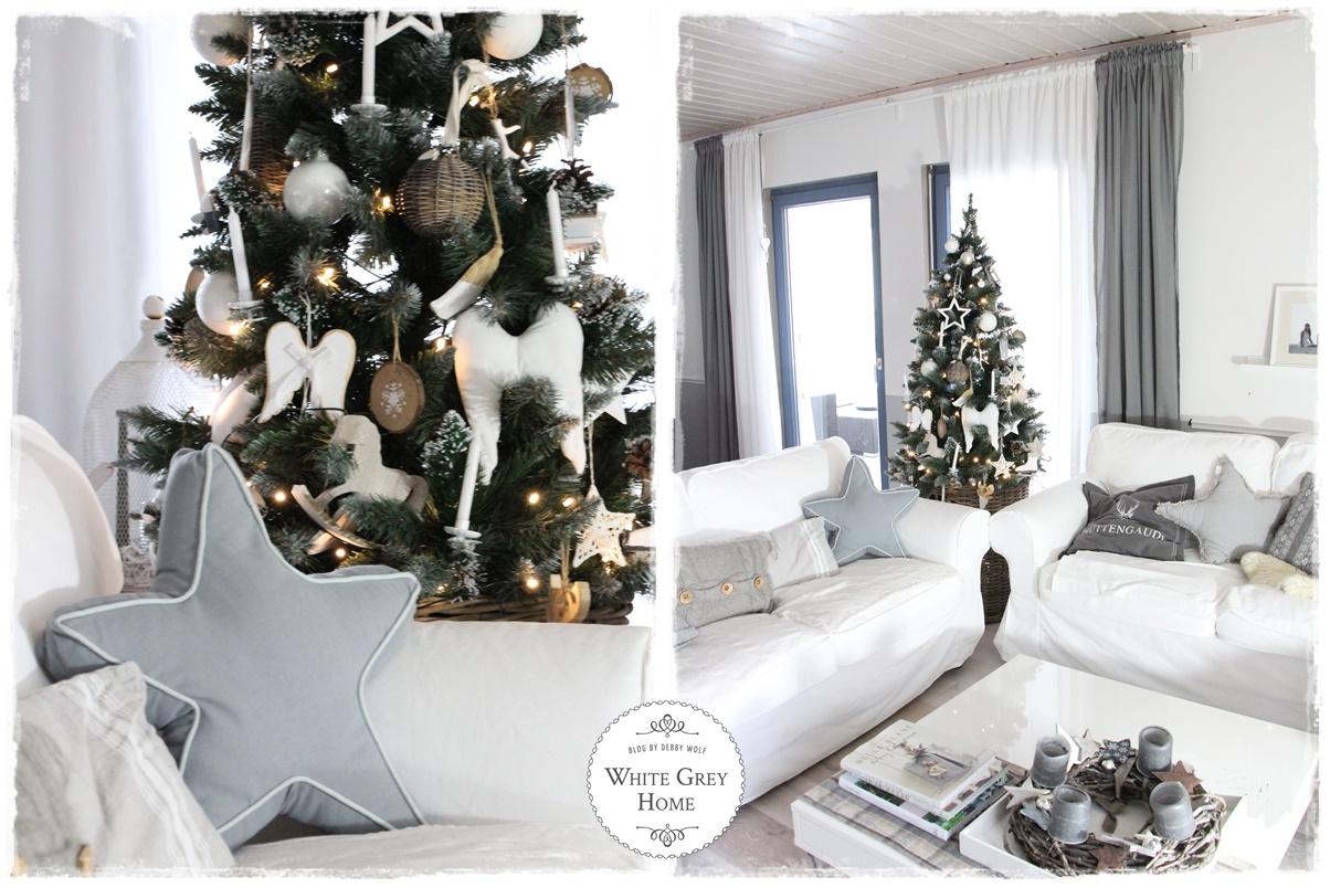 Weihnachtsdeko Auf Rechnung.White Grey Home Weihnachten Im Whitegreyhome