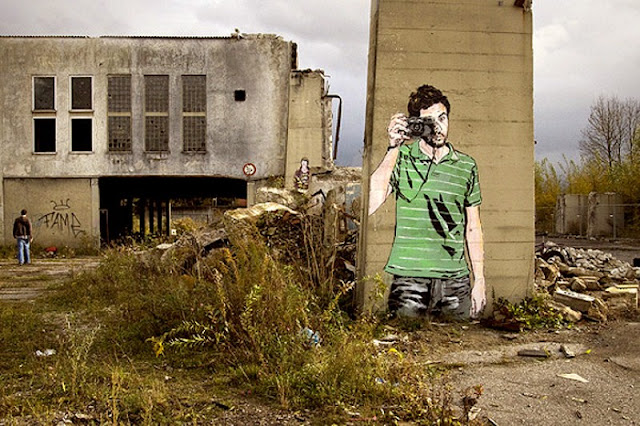 Уличные художники Andrea Michaelsson и Ilya Meyer 12