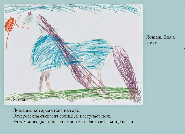 Настина сочинялка и рисовалка про лошадь