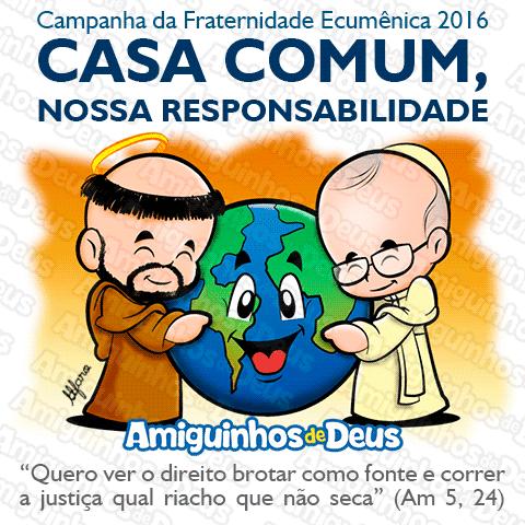 desenho campanha da fraternidade 2016