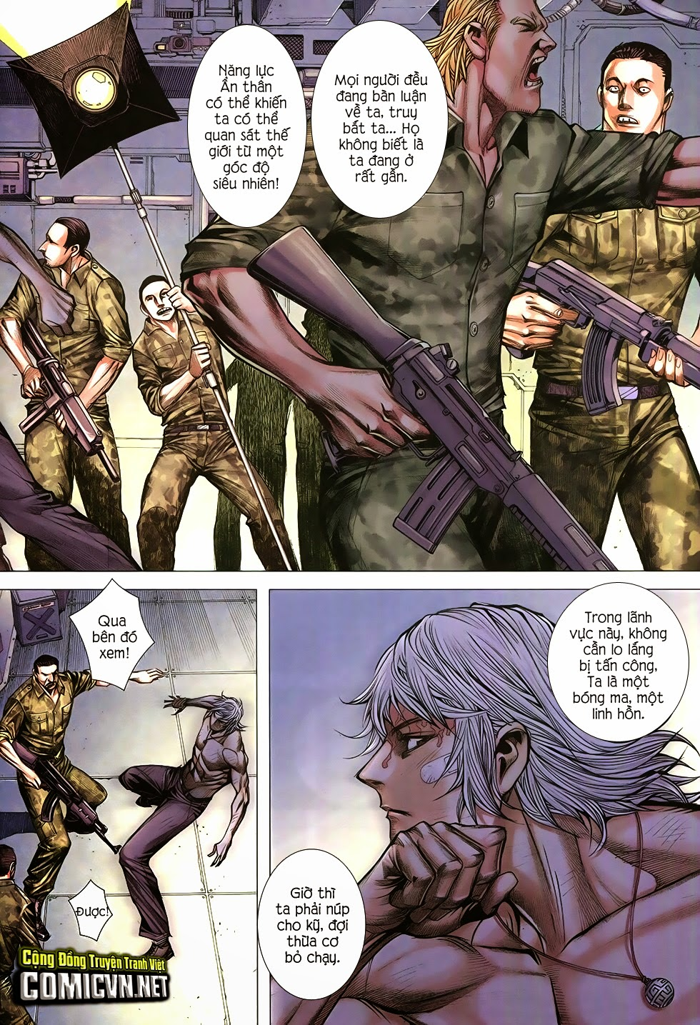 Đại Quân Phiệt chap 12 trang 28