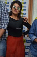 Tejaswini Madivada backstage pics at 92.7 Big FM Studio Exclusive  33.JPG