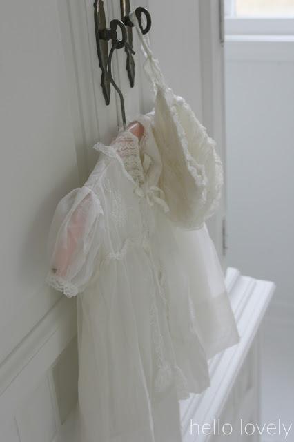 White Christening gown - Hello Lovely Studio