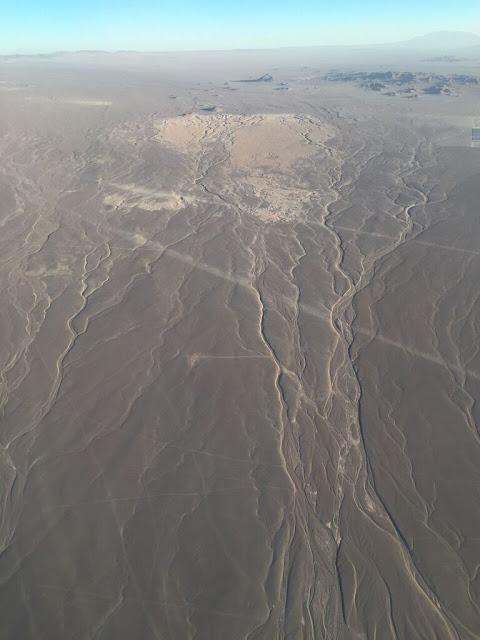 Hacia Atacama (desde el aire)