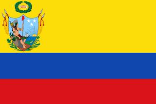 Bandera de la Gran Colombia entre 1819 y 1820