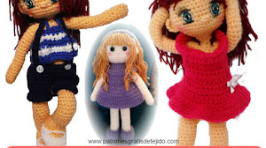 Cómo Tejer Muñecas a Crochet / Tutorial Amigurumi