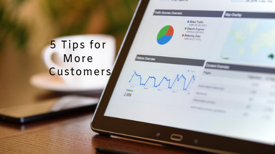 5 tips to get more customers online