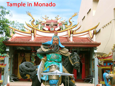 tample in Manado