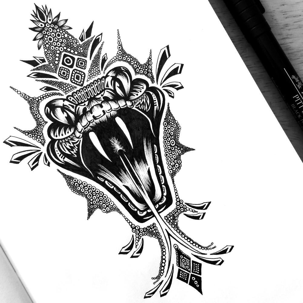 19-Venom-Pavneet-SembhiSelf-taught-Artist-Creates-Intricate-and-Detailed-Drawings-www-designstack-co