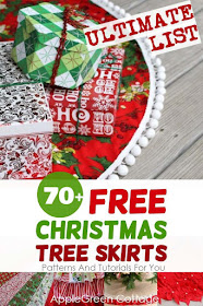 Christmas Tree Skirt Patterns To Sew.70 Cutest Christmas Tree Skirts You Can Make Now