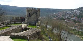 Veliko Tarnovo. Fortaleza de Tsarevets.
