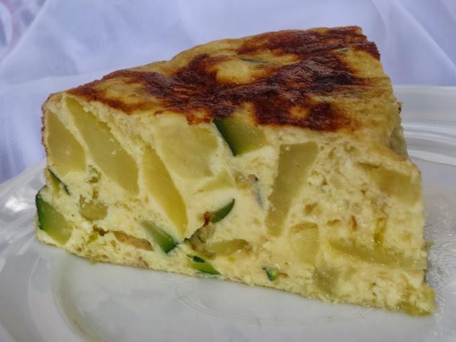 Tortilla de calabacín y patata olla GM