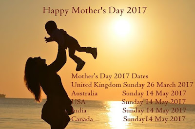 Mother's day 2017 dates