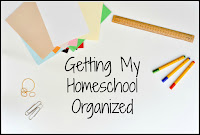 Getting My Homeschool Organized on Homeschool Coffee Break @ kympossibleblog.blogspot.com - Finding out that this is National Get Organized Week forced me to take stock of what needs organizing in our homeschool.