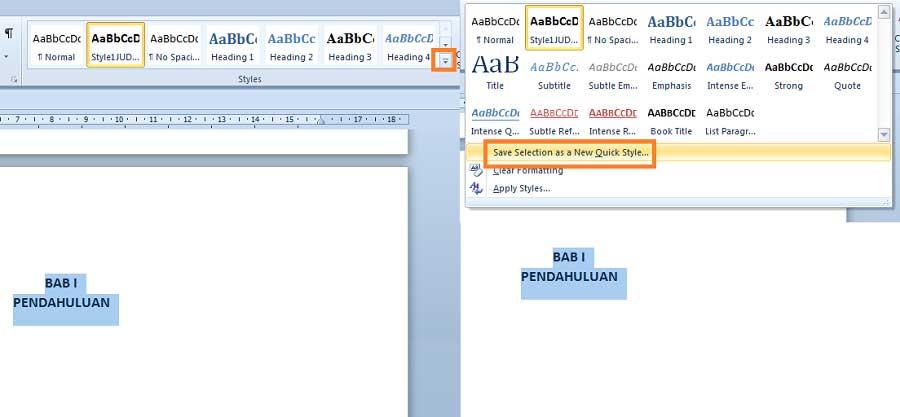 Cara Membuat Daftar Isi Otomatis di Microsoft Word 2010