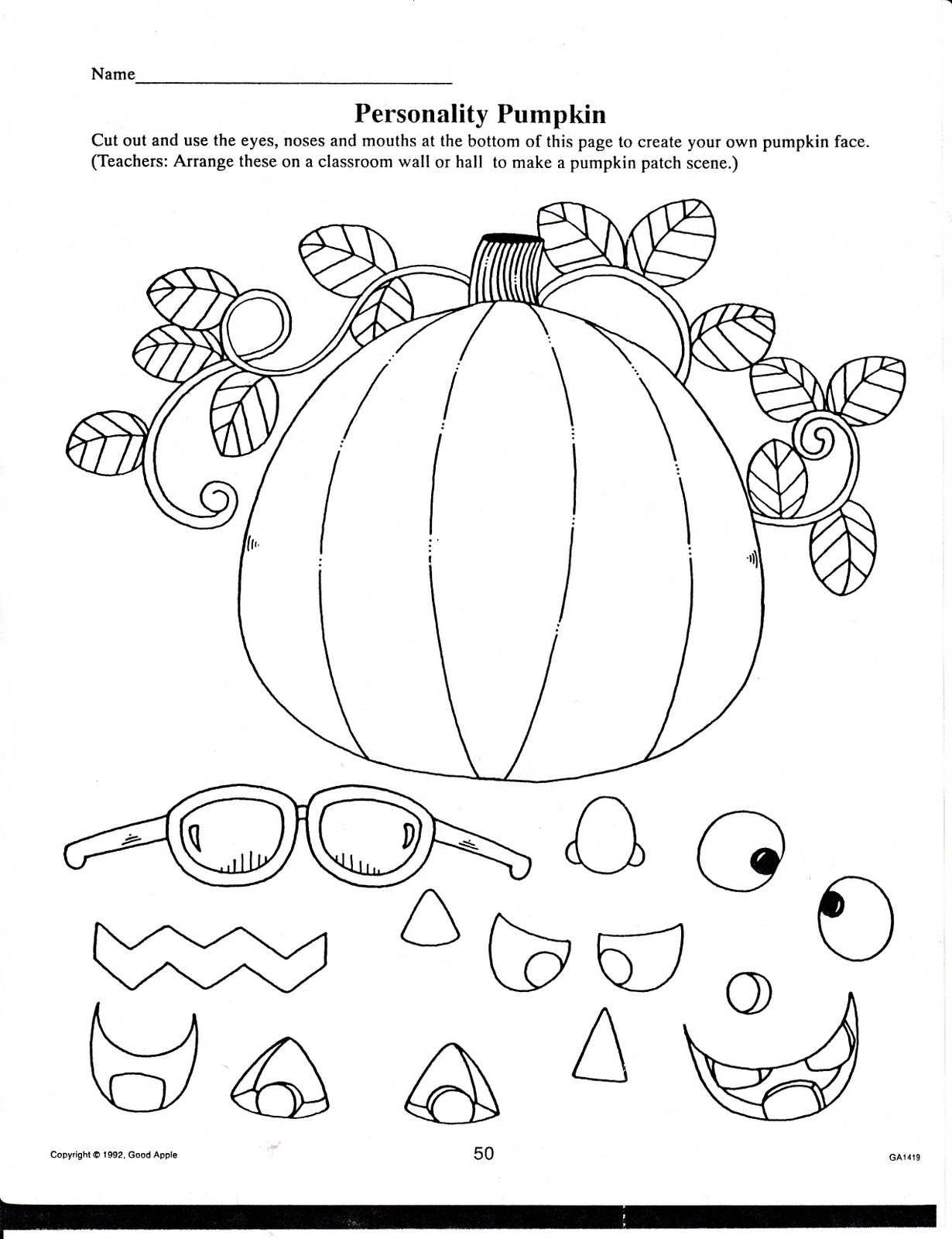 Shocking Printable Halloween Crafts