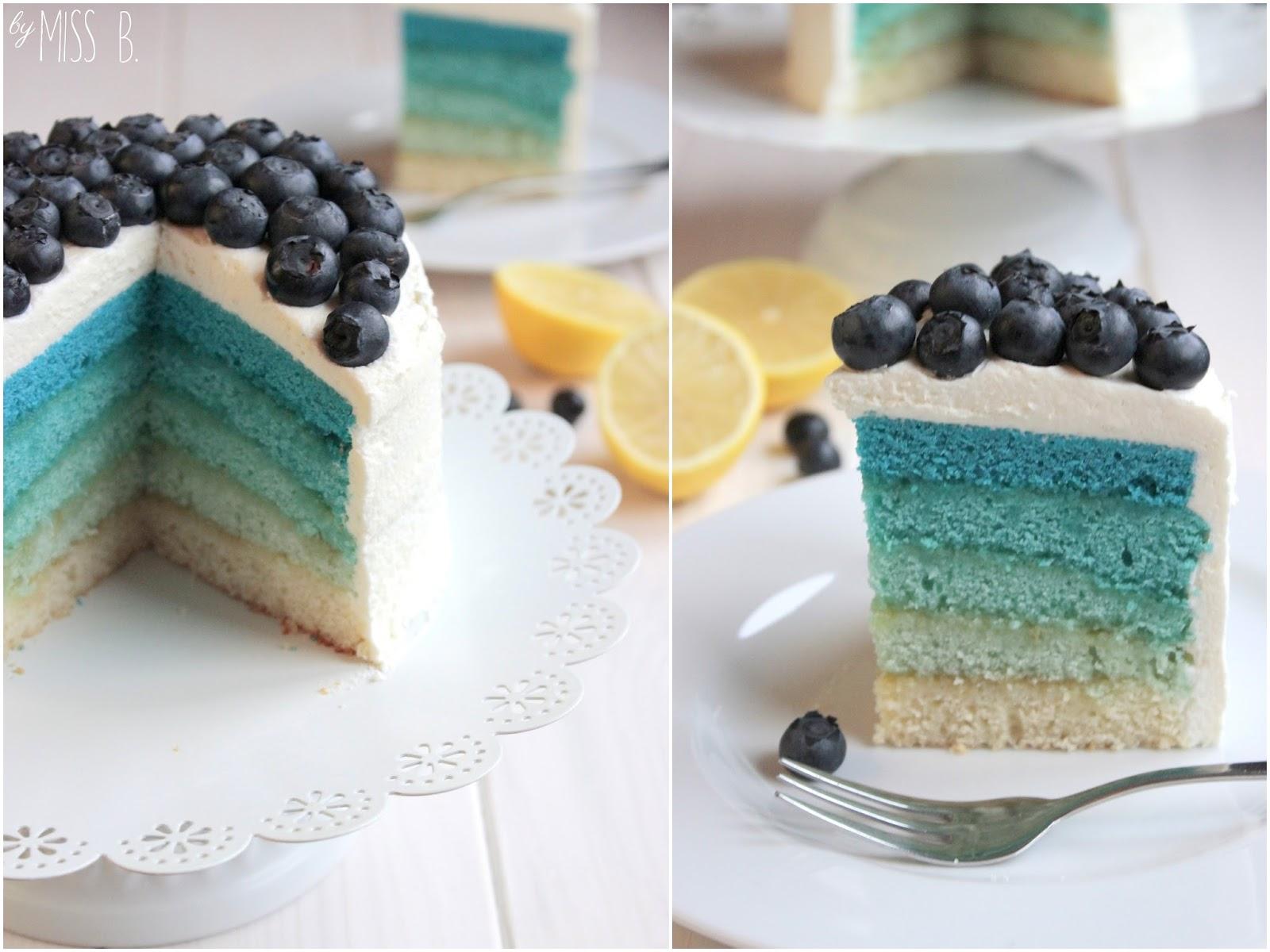 miss blueberrymuffin 39 s kitchen blue ombre cake mit blaubeeren. Black Bedroom Furniture Sets. Home Design Ideas