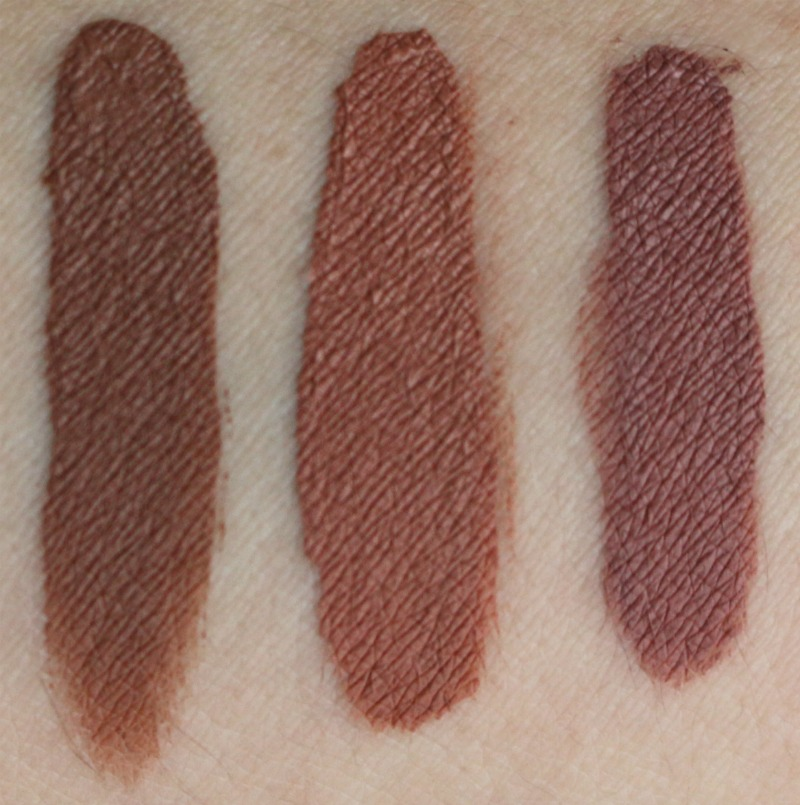 Make Up For Ever Artist Liquid Matte Liquid Lip Color Lip Swatch 103 105 107