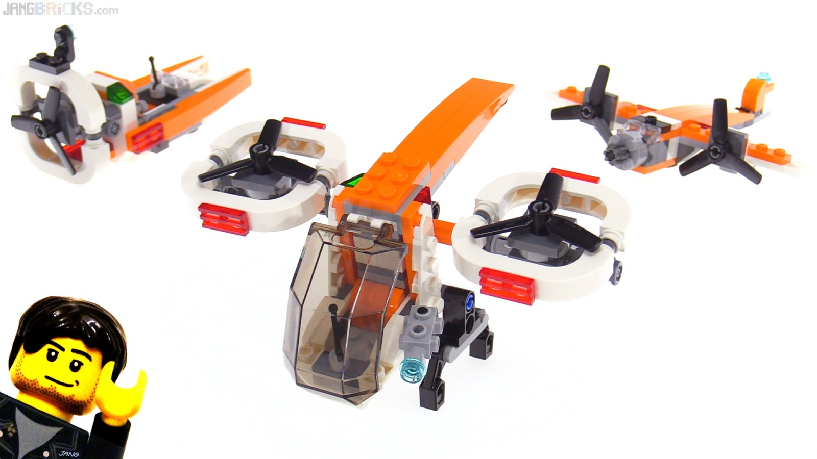 LEGO Creator 3-in-1 Drone Explorer review 31071