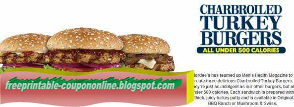 graphic relating to Hardee's Printable Coupons identified as Printable Hardees Discount codes 2018