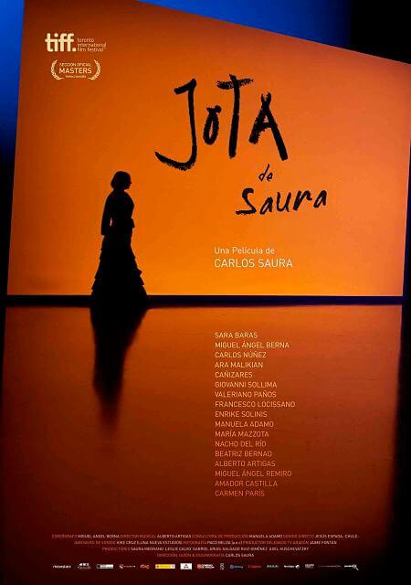 Cartel: Jota, de Saura (2016)