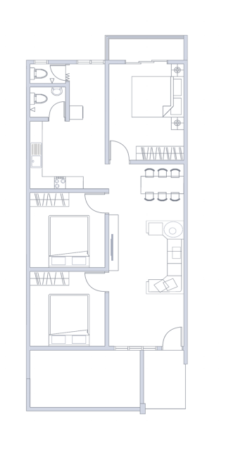 Plan Rumah UNIT TYPE B