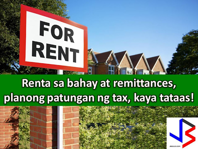 If Tax Reform Bill pushed by the House of Representative will succeed, approximately, 1.5 million renters in Metro Manila and other parts of the country will be affected.  This is according to Representative Carlos Zarate of Bayan Muna.  According to Zarate, the Duterte Administration is planning to impose a tax on apartment and housing rentals as well as money remittances like pera padala.