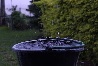 sistema para reaproveitar a água da chuva...conheça