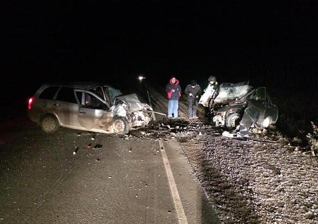В Башкирии лоб в лоб столкнулись два автомобиля: погиб человек
