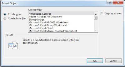 PowerPoint Insert Object