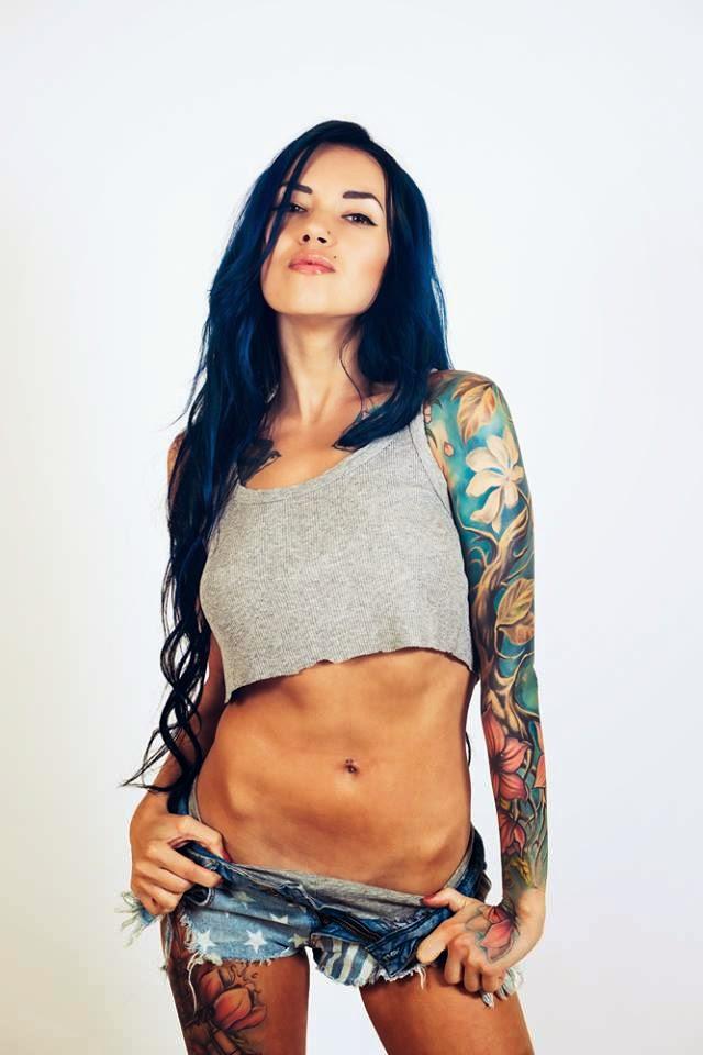 Pony Wave - Sexy Girls With Tattoos-6990