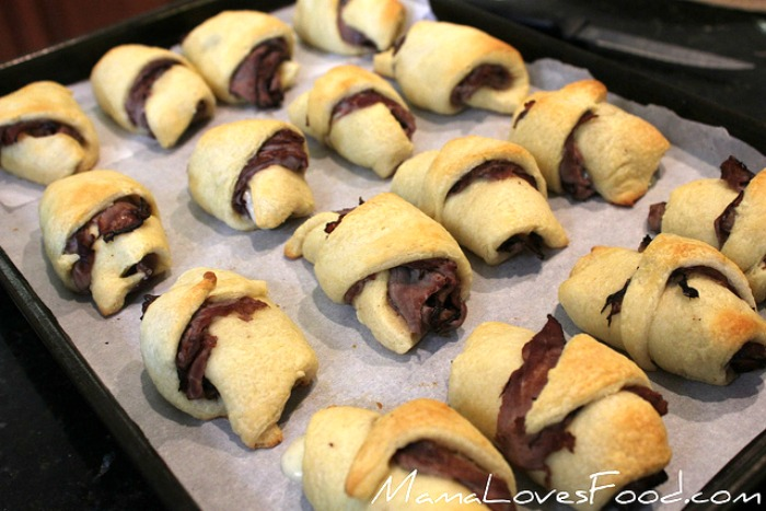 French Dip Crescents with Easy Au Jus Simple Recipe