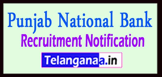 PNB (Punjab National Bank) Recruitment Notification 2017