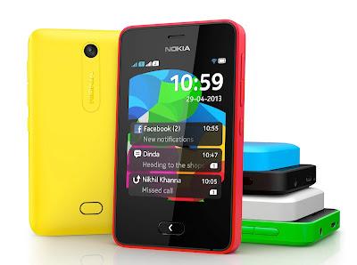 Nokia Asha 501 Resmi Dirilis di Jual Dengan kisaran Harga Rp. 1 jutaan