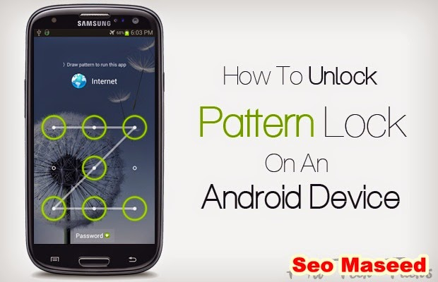 Image result for How to Remove Pattern Lock Without losing data