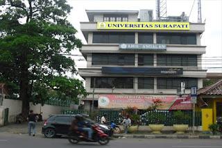 Pendaftaran Dan Biaya Kuliah Universitas Surapati Jakarta