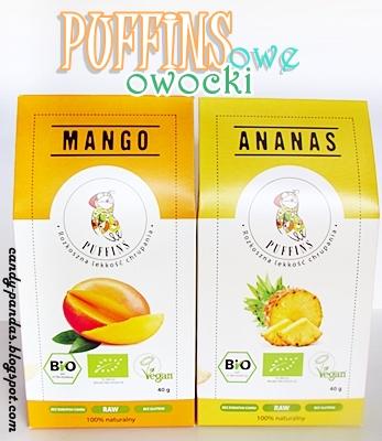 Suszone mango i ananas - Puffins