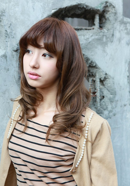 Short Hairstyle Girls Wallpapers New Beautiful Long Wavy Hairstyle For Asian Girls Ladies
