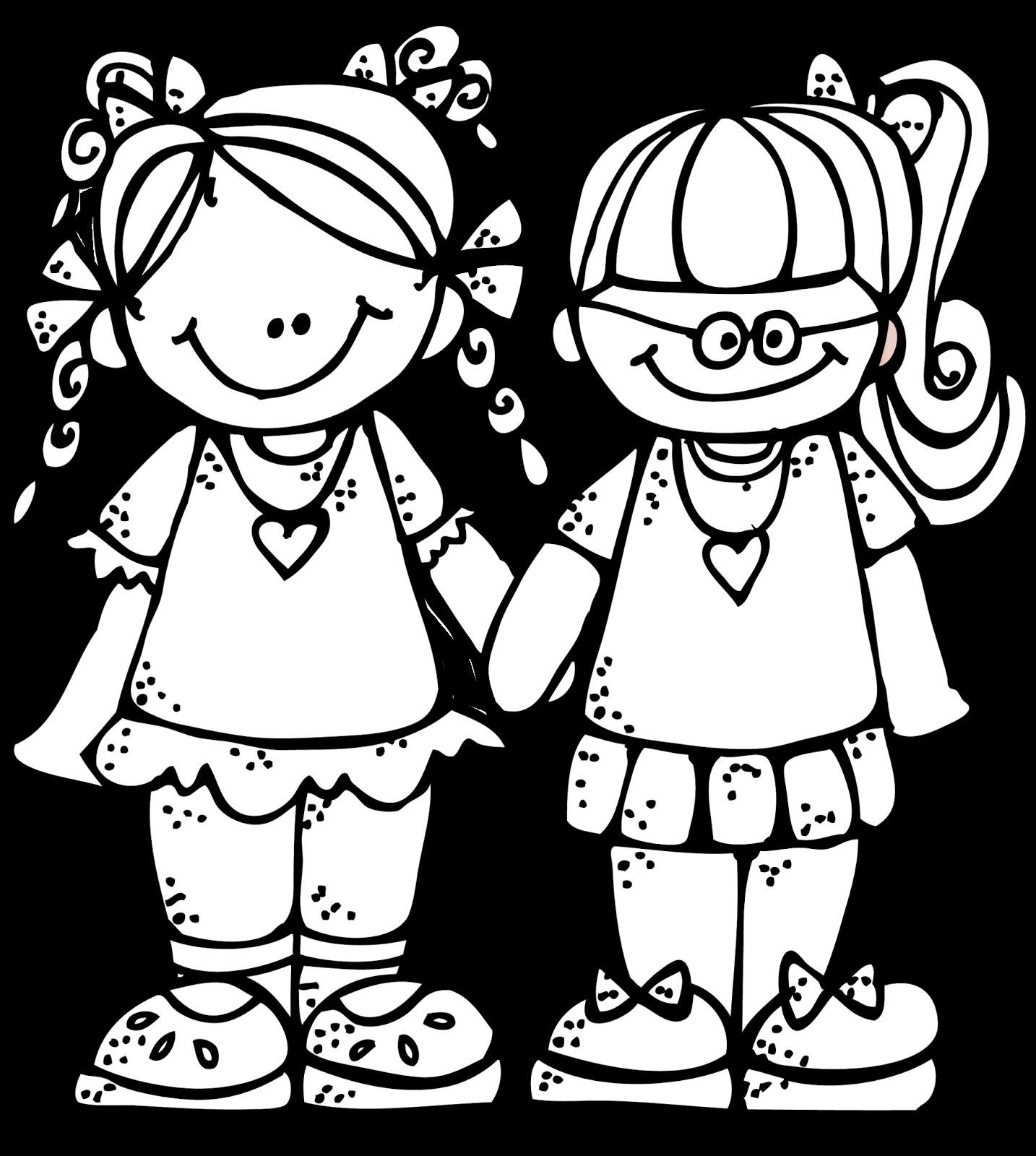 Melonheadz Freebie Forever Friends Graphic