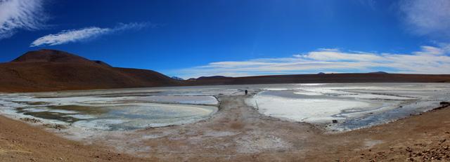 Panorámica de la Laguna Kollpa