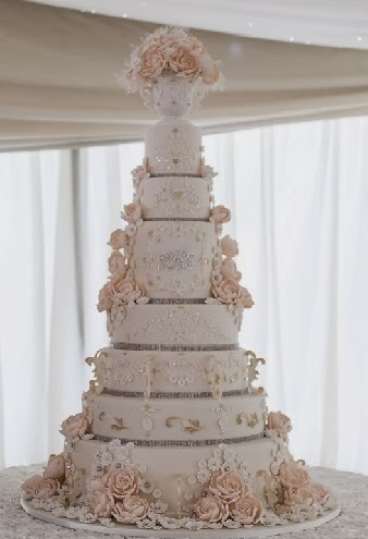 Garrods Wedding Cakes of splendour Cake Gallery