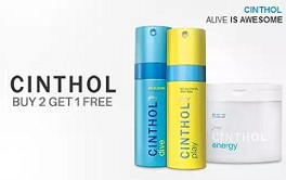 Cinthol Deodorants & Shower Gel:  Buy 2 Get 1 Offer + Upto 33% Off + Extra upto 35% Cashback @ Paytm