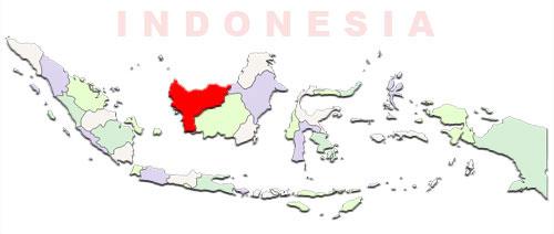 image: West Kalimantan Map location