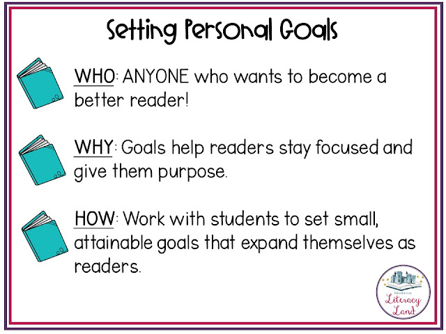 Conferences that help students set reading behavior goals