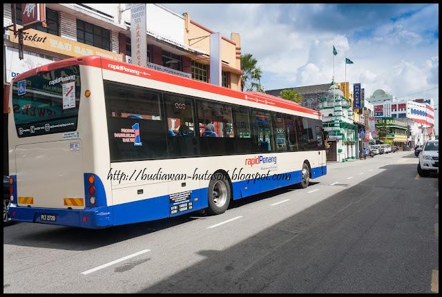 Bis Rapid Penang | Catatan Perjalanan Penang