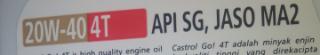 Gambar hiasan gred minyak pelincir